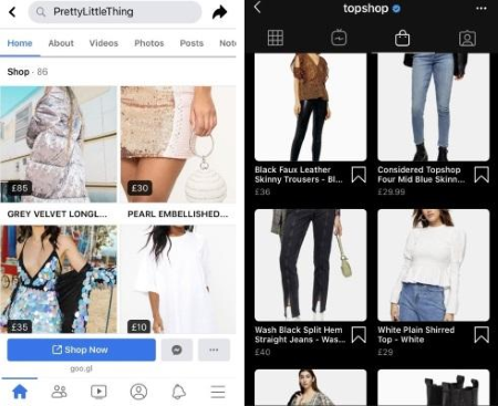 Facebook Shop and Instagram Product Feeds
